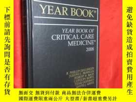 二手書博民逛書店YEAR罕見BOOK OF CRITICAL CARE MEDI