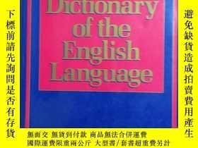 二手書博民逛書店英國進口帶拇指索引罕見原裝詞典Longman Dictionary of the English Language