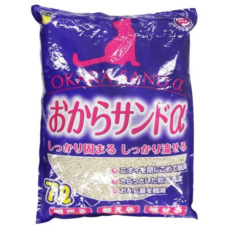 [寵樂子]《日本Super Cat》超級貓阿爾法環保豆腐貓砂 6L / 環保紙砂韋民豆腐砂同級