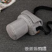 相機保護套 簡約豬頭包佳能單反相機包攝影包77D 800D 700D尼康 D3200內膽包 歐萊爾藝術館