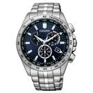 CITIZEN/星辰 光動能電波錶 三眼計時手錶(CB5870-91L) 限量/43mm