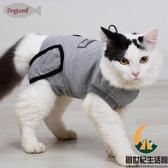 貓咪絕育服寵物術后恢斷奶服貓防舔防咬手術服【創世紀生活館】