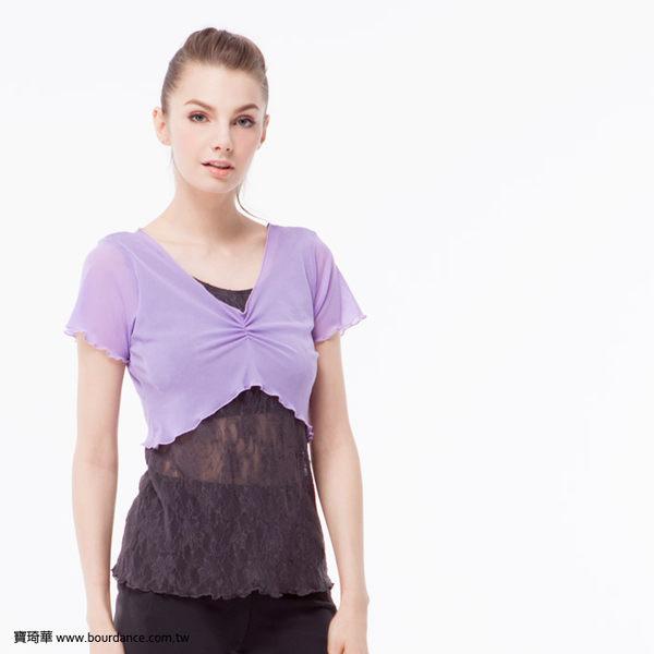 *╮寶琦華Bourdance╭*專業瑜珈韻律芭蕾★蕾絲上衣(內有裡襯 附罩杯)【Y16261】