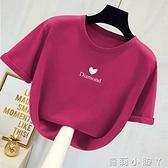 2021年夏新款t恤女cec短袖女時尚洋氣上衣百搭寬鬆韓版ins潮半袖 蘿莉新品