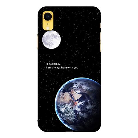 [XR 軟殼] 蘋果 iPhone xr 手機殼 保護套 外殼 地球月球