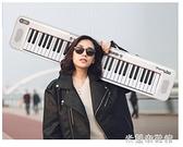 電子琴 KUYIN智能便攜式電子琴初學者兒童成年61鍵盤電鋼家用幼師專業88 雙11全館優惠特價~