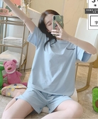 新款潮夏季薄款短袖睡衣女純棉