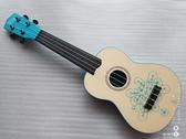 木制兒童早教4弦6吉他烏克麗麗送書背帶YJT 交換禮物
