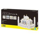 《 Nano Block 迷你積木 》【世界主題建築系列】NB-032泰姬瑪哈陵╭★ JOYBUS玩具百貨