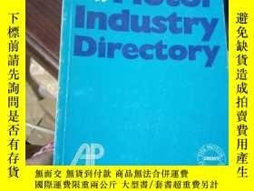 二手書博民逛書店The罕見Motor Industry DirectoryY15