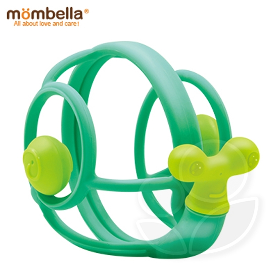 英國 Mombella 卷卷蝸固齒器(綠)【佳兒園婦幼館】