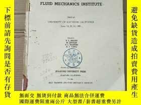 二手書博民逛書店proceedings罕見of the 1961 heat transfer and fluid mechanic