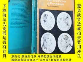 二手書博民逛書店Fact罕見and Fiction in Psychology(