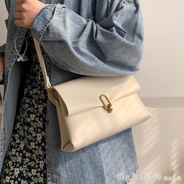 斜背包 流行包包女包夏季2021新款潮時尚斜背包高級感夏天百搭小方包 開春特惠