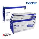 【優惠組合】Brother DR-2355 原廠感光滾筒一支+TN-2380 原廠碳粉匣三支
