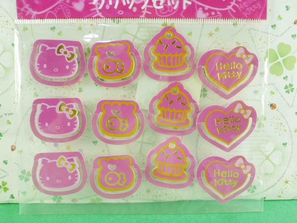 【震撼精品百貨】Hello Kitty 凱蒂貓~造型夾-12入夾子-蛋糕圖案