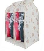 無紡布防塵罩衣服立體挂袋防塵袋西服透明窗衣服套2個裝 8號店