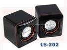 【DQ440】USB多媒體音箱 SR-US-202 防磁喇叭 DC5V USB插頭 體積輕巧 EZGO商城