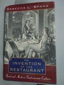 【書寶二手書T8/歷史_YJE】The Invention of the Restaurant..._Spang, Re