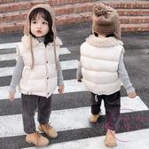 兒童馬甲 兒童棉背心裝加厚男童女童兒童羽絨棉馬甲中小童保暖棉服外套【快速出貨】