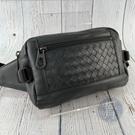 BRAND楓月 Bottega Veneta BV 霧霾綠 經典編織紋 皮革 皮件 側背腰包 隨身小包