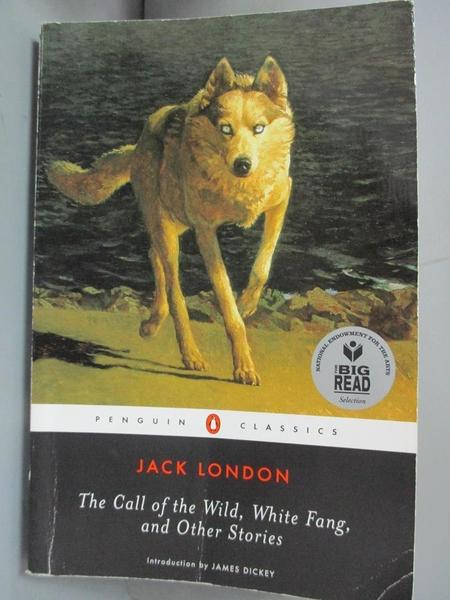【書寶二手書T4/原文小說_GGY】The Call of the Wild, White Fang…_London, Jack