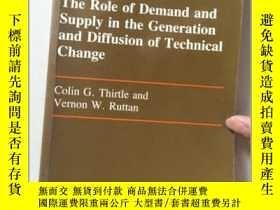 二手書博民逛書店The罕見Role of Demand and Supply i