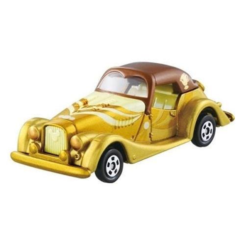 TOMICA DREAM  迪士尼小汽車 美女與野獸貝兒黃金老爺車 DS88923 多美小汽車