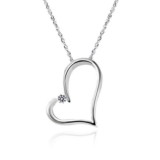 蘇菲亞SOPHIA -甜心純銀項鍊
