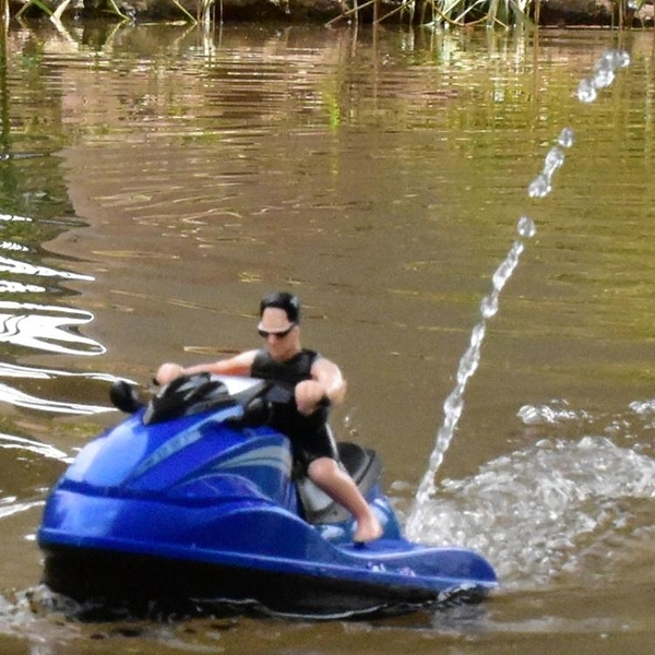 兒童遙控摩托艇寶寶戲水洗澡遊輪電動船模馬達玩具噴水摩托快艇【全館免運】