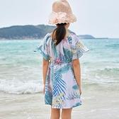 兒童洋裝 女童洋裝2020新款夏裝網紅女孩童裝碎花裙子夏季韓版洋氣兒童裙