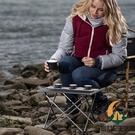 戶外野餐桌露營鋁合金折疊桌椅套裝便攜車載自駕超輕便【創世紀生活館】