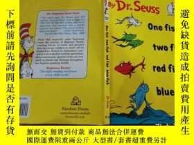 二手書博民逛書店One罕見Fish Two Fish Red Fish Blue FishY241171 Dr. Seuss(