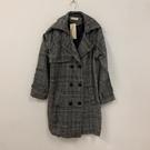 韓版百搭基本款修身長版大衣風衣(2XL號/121-6197)