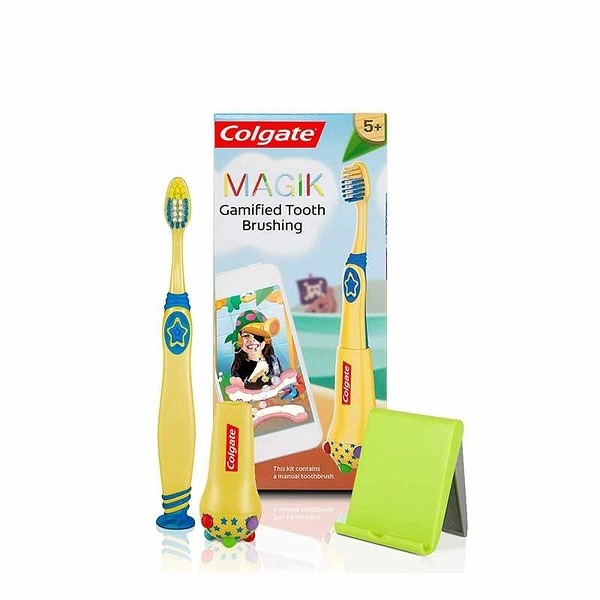 Colgate 高露潔 Colgate Magik 魔力兒童智能牙刷 計時 Toothbrush Timer with Fun Brushing Games [2美國直購]