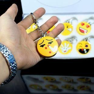 愚人節整人必備★整人玩具整蠱玩具電人玩具-笑臉鑰匙扣燈