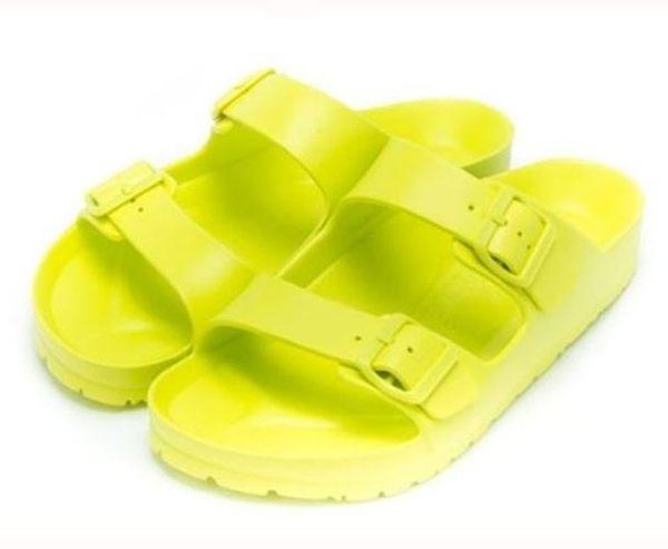 AIRWALK 男女款戶外休閒涼拖鞋 綠-No.A755220171
