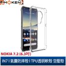 【默肯國際】IN7 Nokia 7.2 (6.3吋) 氣囊防摔 透明TPU空壓殼 軟殼 手機保護殼