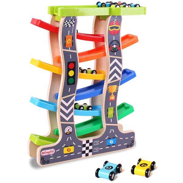 滑翔車1-2-3周歲寶寶軌道車男孩慣性回力小汽車兒童益智力玩具車 【八折搶購】