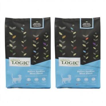Natures Logic 自然邏輯 低敏天然糧 全貓沙丁魚配方 15.4磅 X 2包