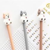 【BlueCat】紅字單身狗哈士奇水性筆 中性筆