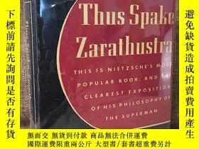 二手書博民逛書店Thus罕見Spoke Zarathustra(尼采《查拉斯圖特拉如是說》,Thomas Common英譯,經典M