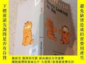 二手書博民逛書店Garfield罕見here s looking at you加菲貓在看著你。Y200392