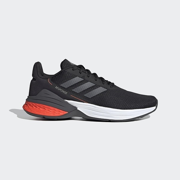 Adidas Response SR 男款運動黑色慢跑鞋-NO.FX3629