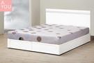 艾麗絲5尺床片型雙人床(大台北地區免運費)【阿玉的家2020】