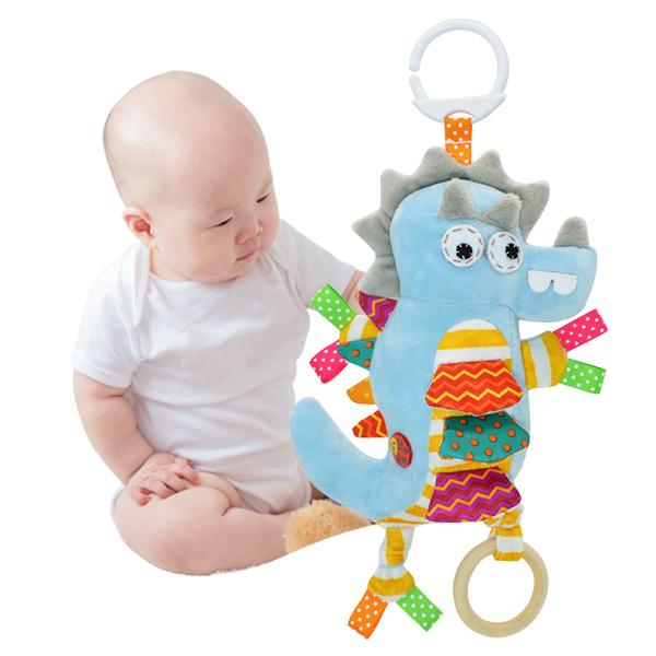 嬰兒安撫玩具動物音樂拉鈴-Joybaby
