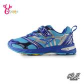 日本瞬足童鞋 男童運動鞋慢跑鞋 V8系列 強化大底 滑步車鞋 輕量 透氣跑步鞋 G7790#藍色