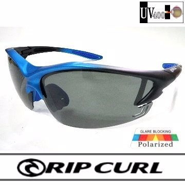 [Rip Curl] UF9426(鈦藍)抗藍光抗UV保麗萊運動偏光鏡/騎車.戶外族專用