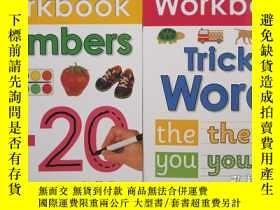 二手書博民逛書店可擦寫清潔練字練習冊wipe罕見clean Workbook系列