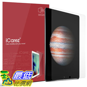 [107美國直購] 保護膜 Apple 12.9-inch iPad Pro Screen Protector , iCarez [HD Anti Glare] [2-Pack]